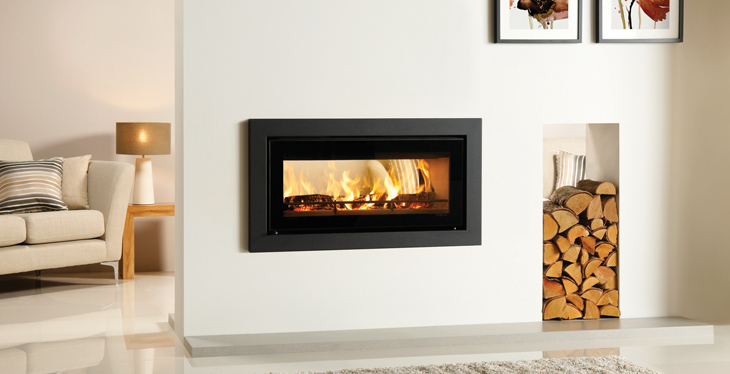 Riva Studio 2 Duplex Double Sided Woodburning Stove